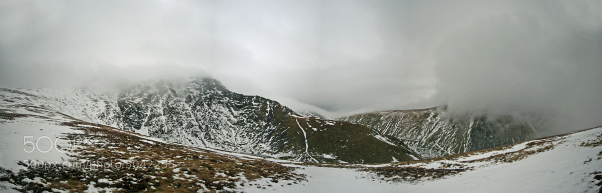 Photograph SHARP EDGE PANORAMIC by Gary Turnbull on 500px