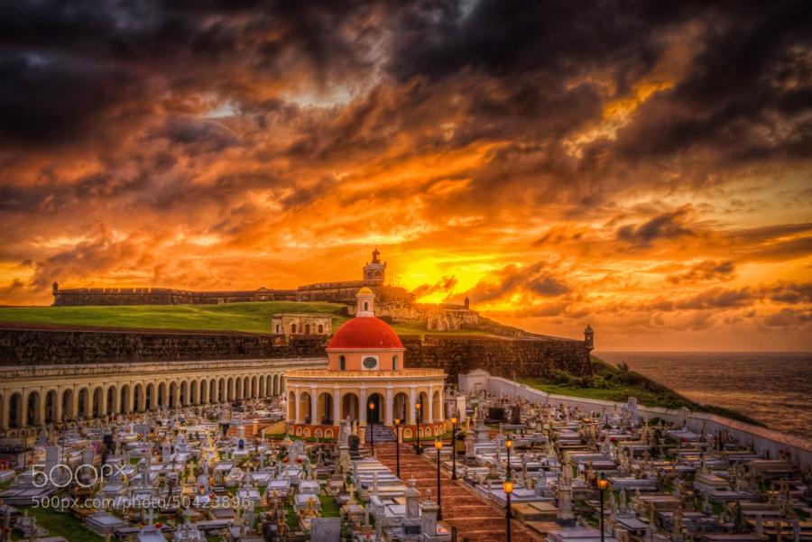 El Morro Lighthouse, San Juan, Puerto Rico