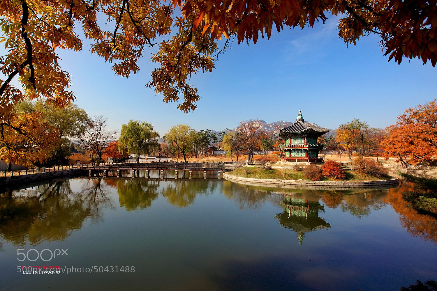 Photograph Fall of king's pond by LEE INHWAN on 500px