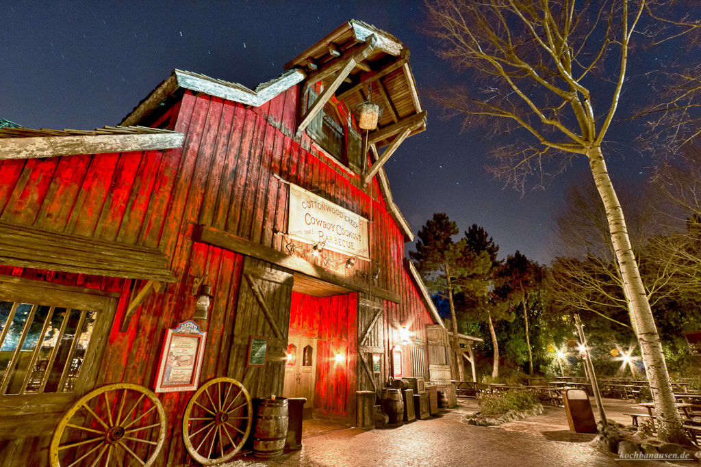 Photograph Cowboy Cookout Barbecue at Night by Stefan Tiesing on 500px