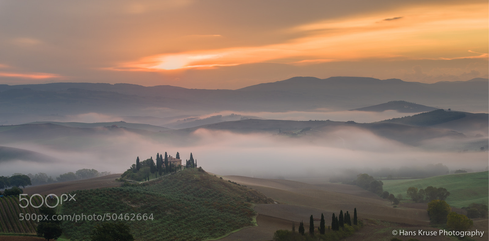 Photograph Tuscan morning dream by Hans Kruse on 500px