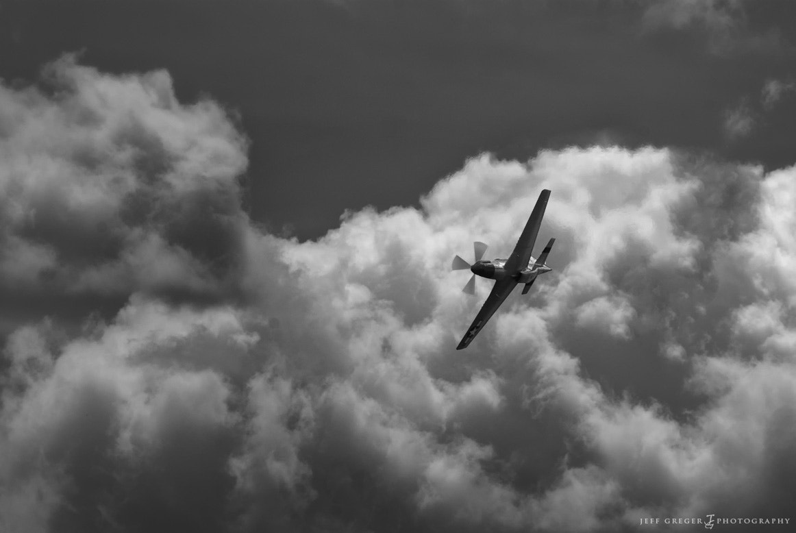 Photograph Mustang in the Clouds by Jeff Greger on 500px