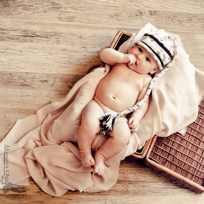 Photograph Lev, 2 month III by Olga Aksenova on 500px