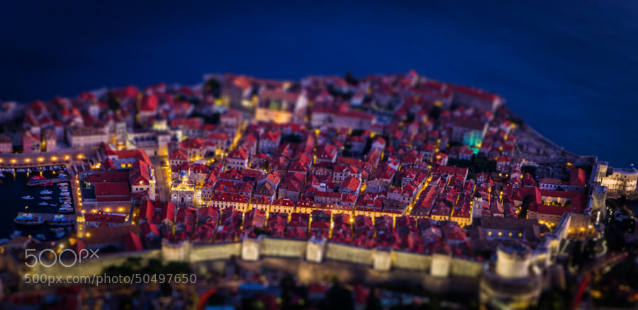 Photograph Mini Old Town Dubrovnik by Alexandre Ehrhard on 500px