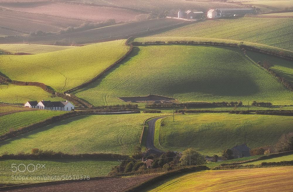 Photograph Irish farmalnd by Lukasz Maksymiuk on 500px