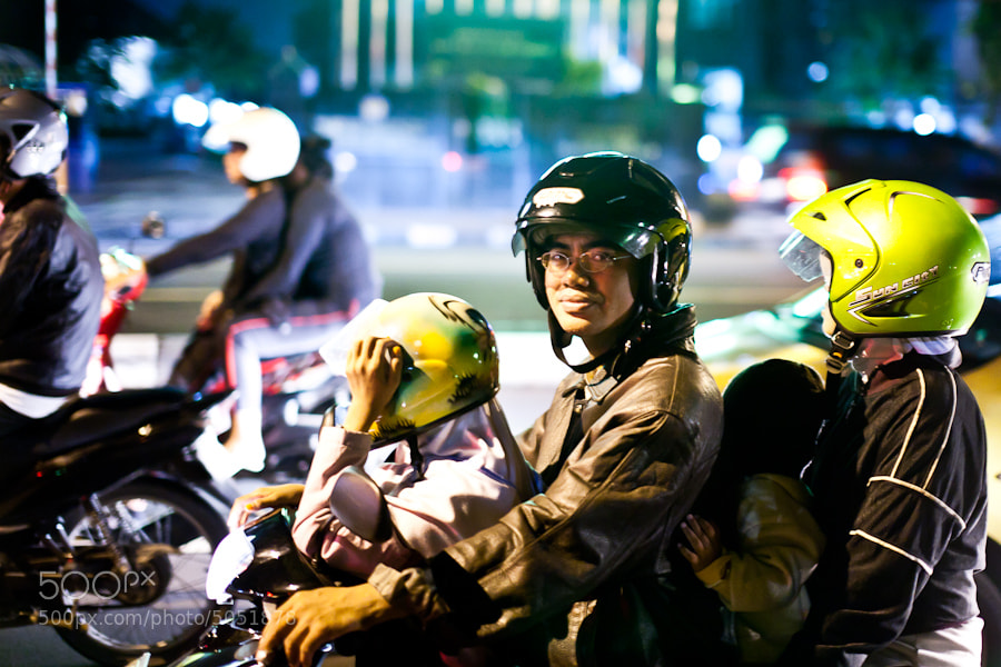 Photograph Scooters in Jakarta by Victor Gan on 500px