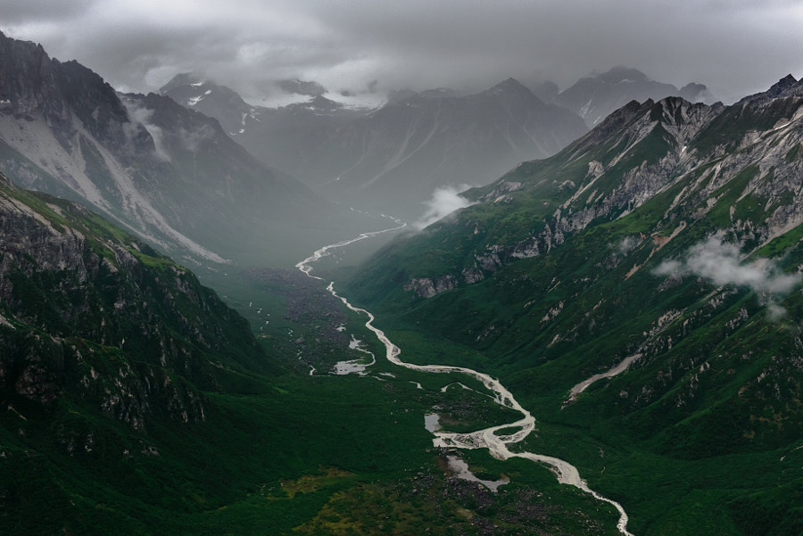 Valley of Stormy Clouds