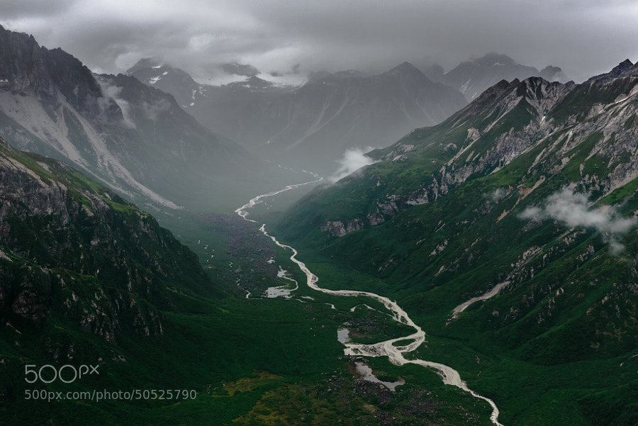 Photograph Valley of Stormy Clouds by Evgeny Tchebotarev on 500px