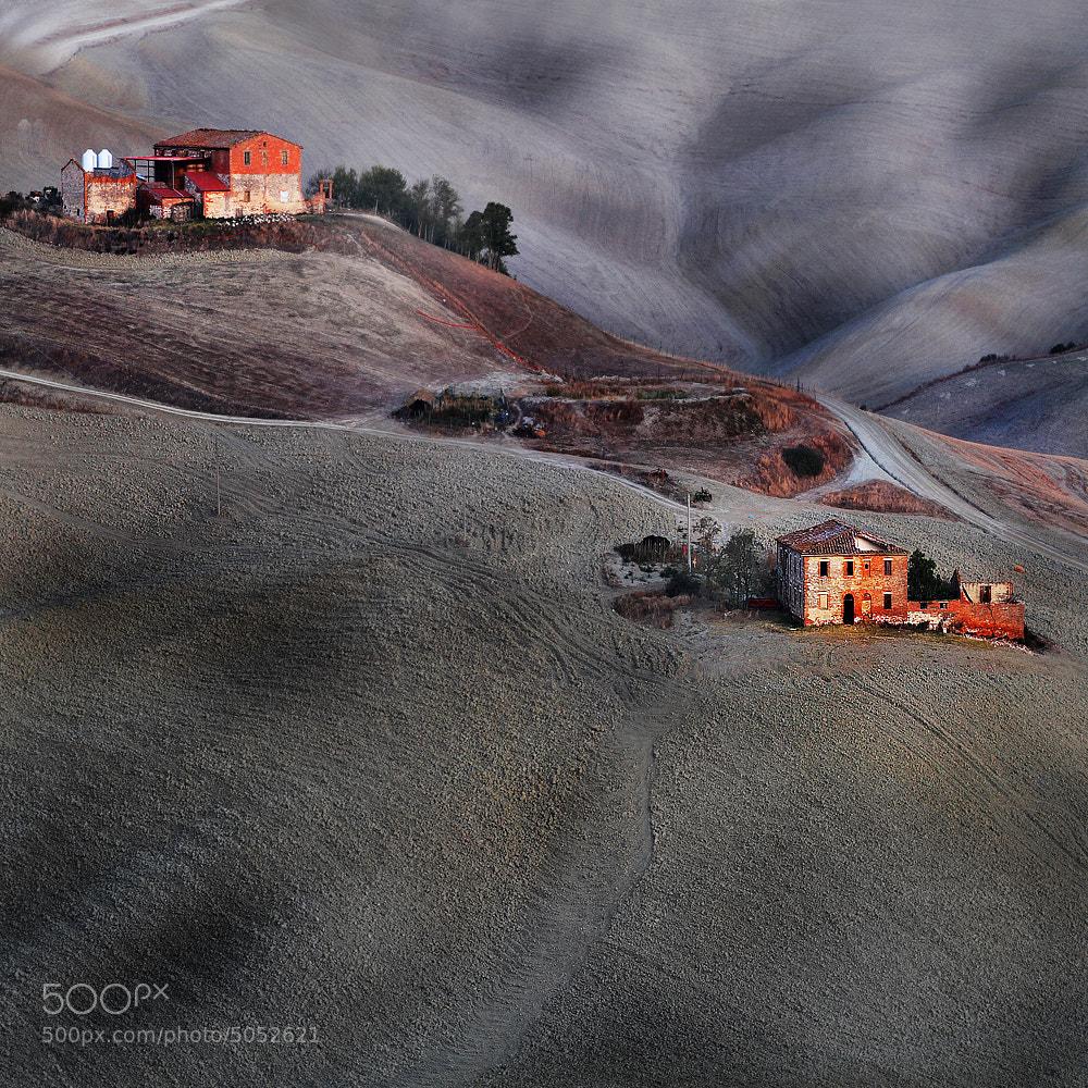 Photograph Tuscany 6.17 hours early morning .. by Edmondo Senatore on 500px