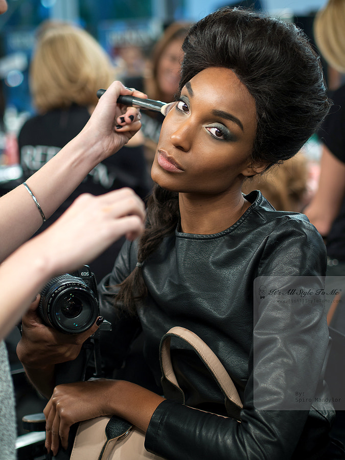 Photograph Backstage WMCFW SS14 by Spiro Mandylor on 500px