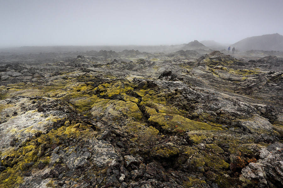 Photograph Myst over lava fields by Christian Rey on 500px