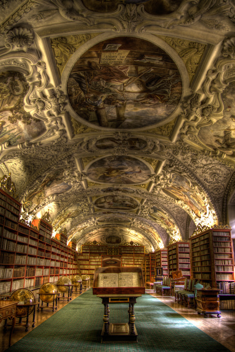 Photograph strahov theological hall by Guy Prives on 500px