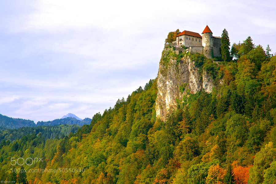 Photograph Bled Castle in Autumn by Jevgenij Gaus on 500px