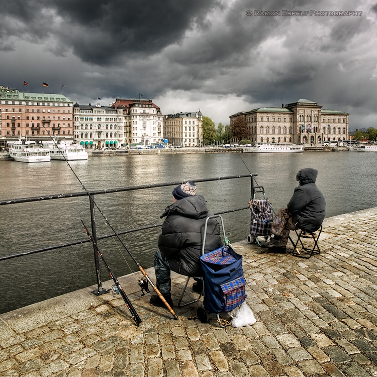 Photograph Fishing in Stockholm by Ramón  Espelt on 500px