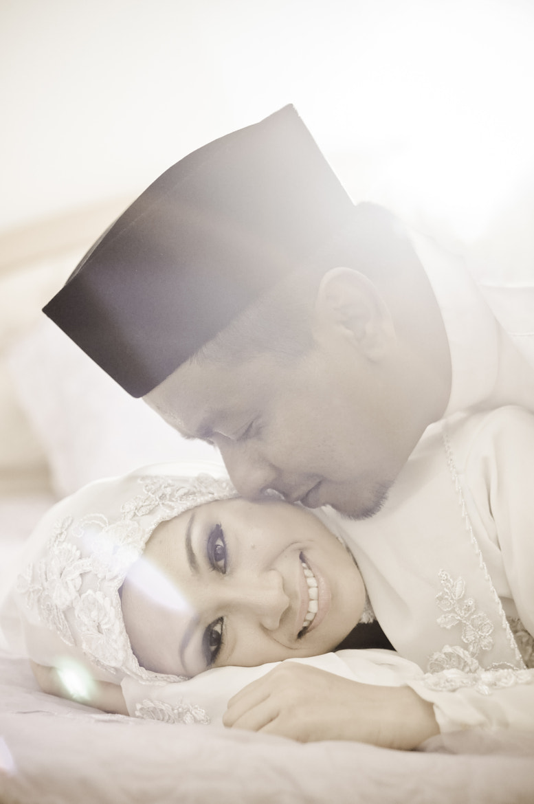 Photograph Syed + Balkis : The Solemnization - Portraiture session after the Solemnization by Ashraf Rafdzi on 500px