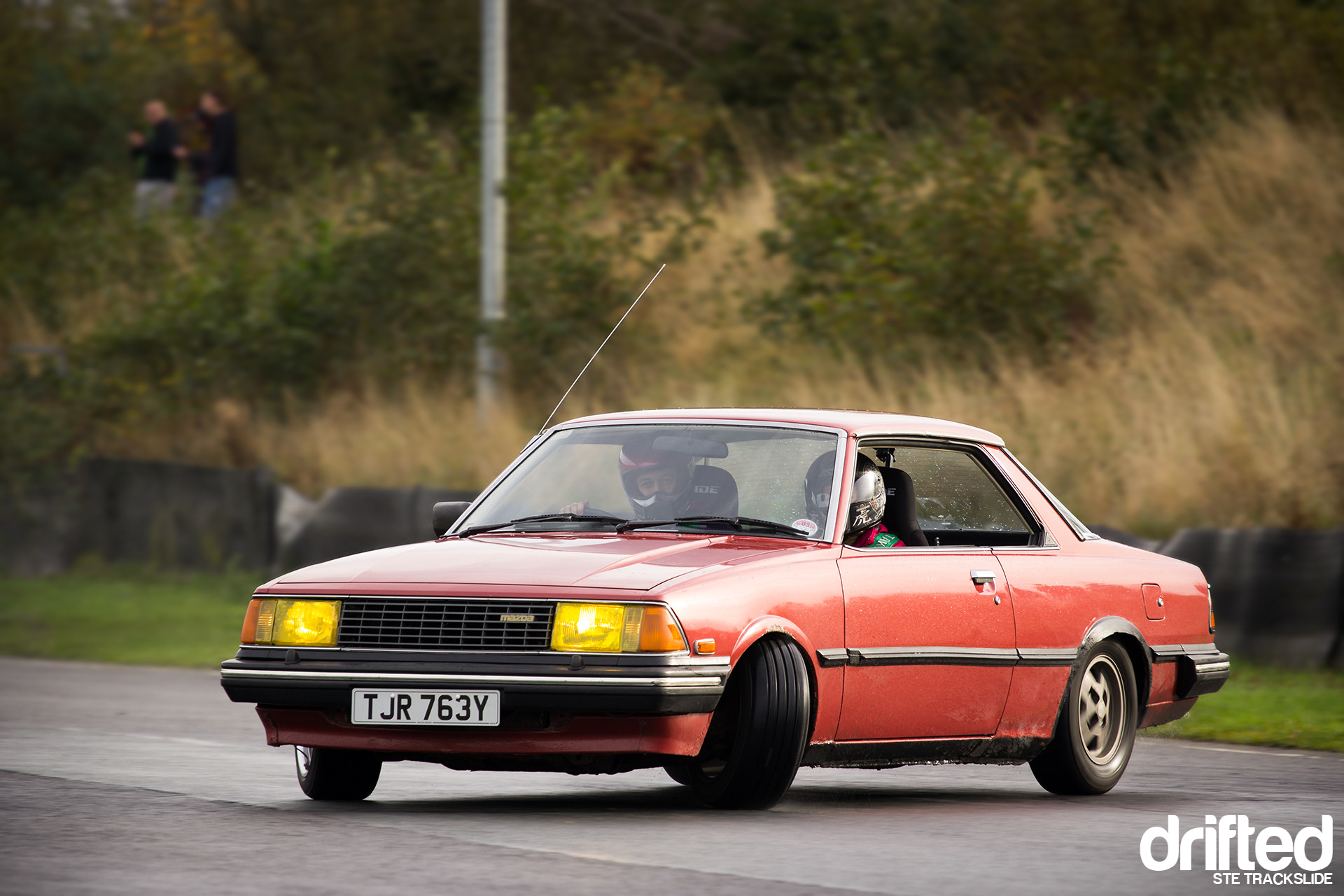 Photograph Oldskool Mazda 626 drift... by Ste Trackslide on 500px