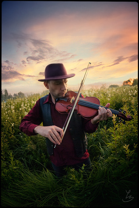 Photograph Gipsy Fiddler by Alexander Corvus on 500px