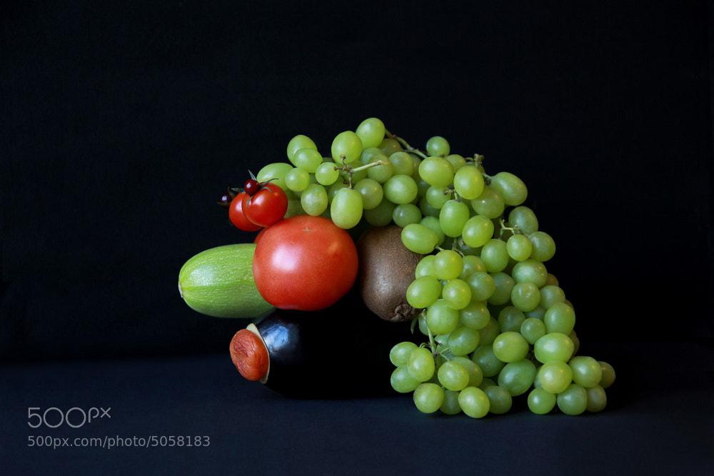 Photograph based on arcimboldo by Dara Pilyugina on 500px