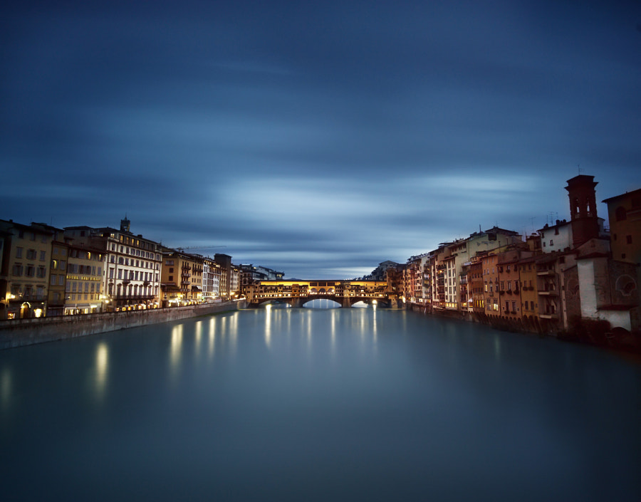 Ponte Vecchio - Firenze by David Saliba on 500px.com