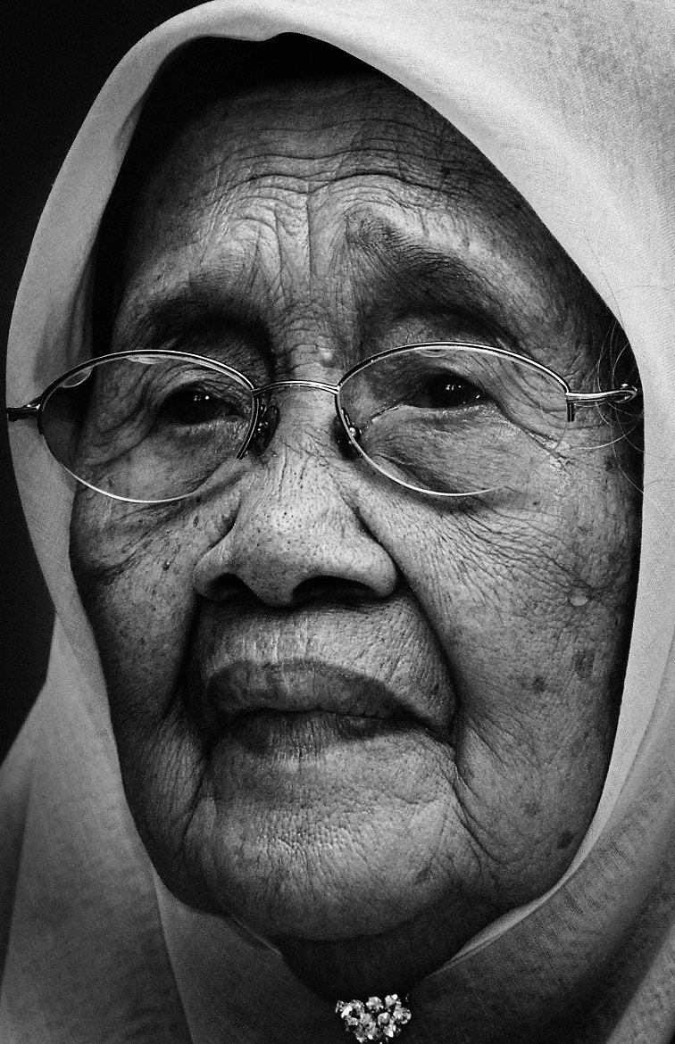 Photograph Old Woman by Roslan Salleh on 500px