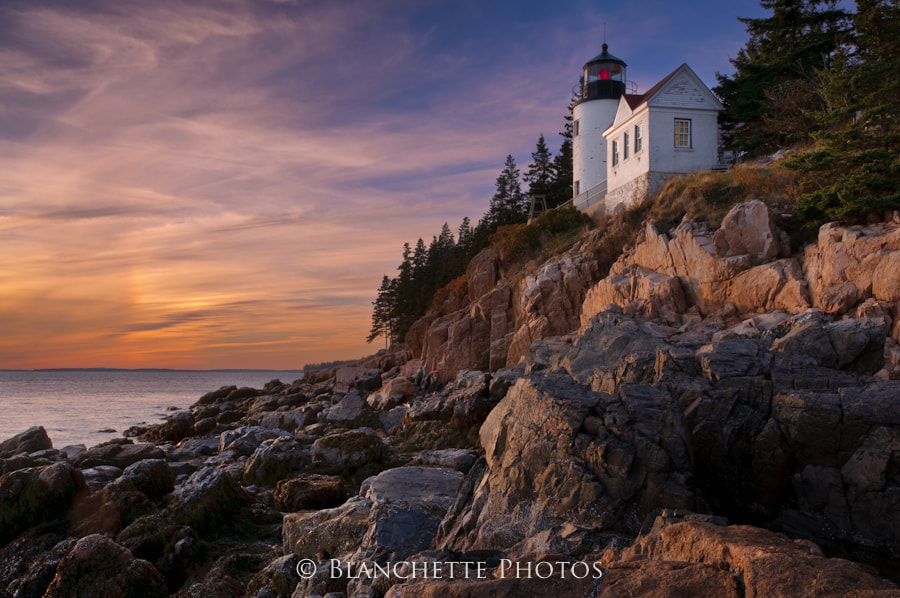 Photograph Bass Harbor Sunset by Michael Blanchette on 500px