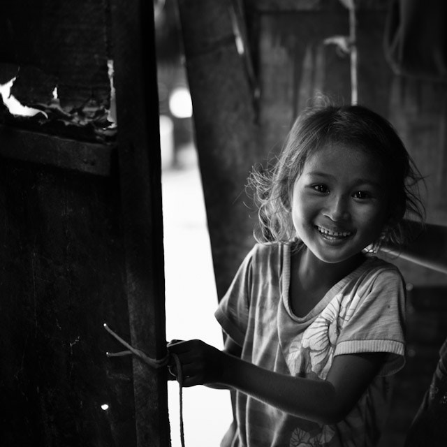 Photograph Little girl in Cambodia by Josep Girona on 500px