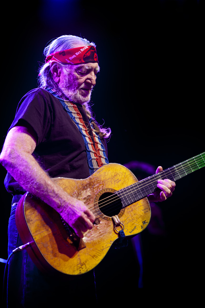 Photograph Willie Nelson at The Tabernacle by Dennis Tudor on 500px