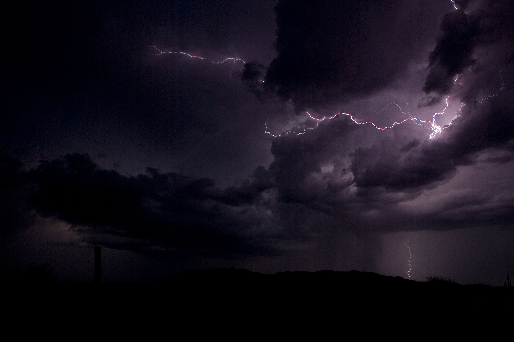 Photograph Arizona Summer Lightning Storm by Eugene Cupps on 500px