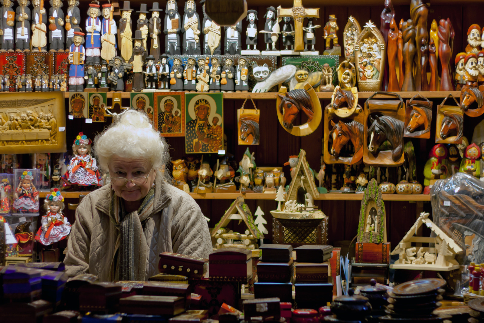 Photograph the shopkeeper by Gianluca Marrone on 500px