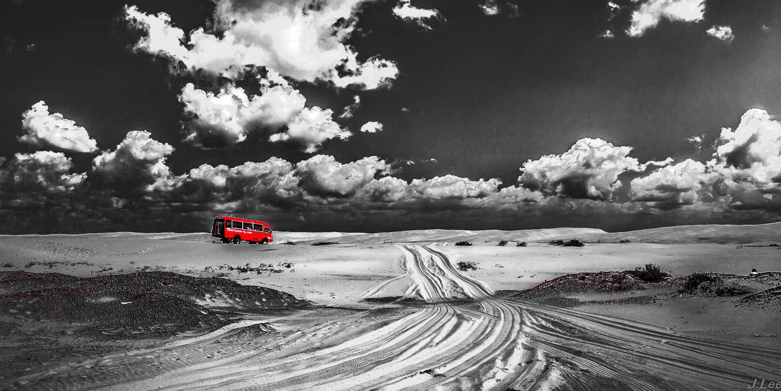 Photograph Stormy Desert by James Lee on 500px