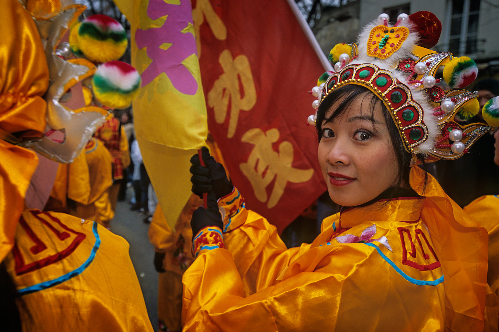 Photograph Chinese new year in Paris #10 by Henri Gouspy on 500px