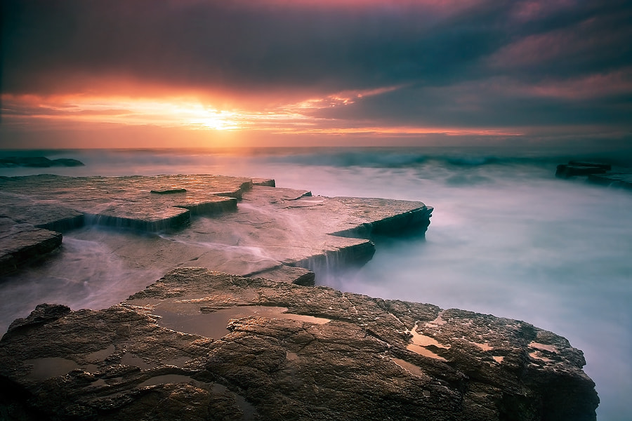 Photograph Sunrise at Turimetta Beach, Sydney, Australia by Yury Prokopenko on 500px