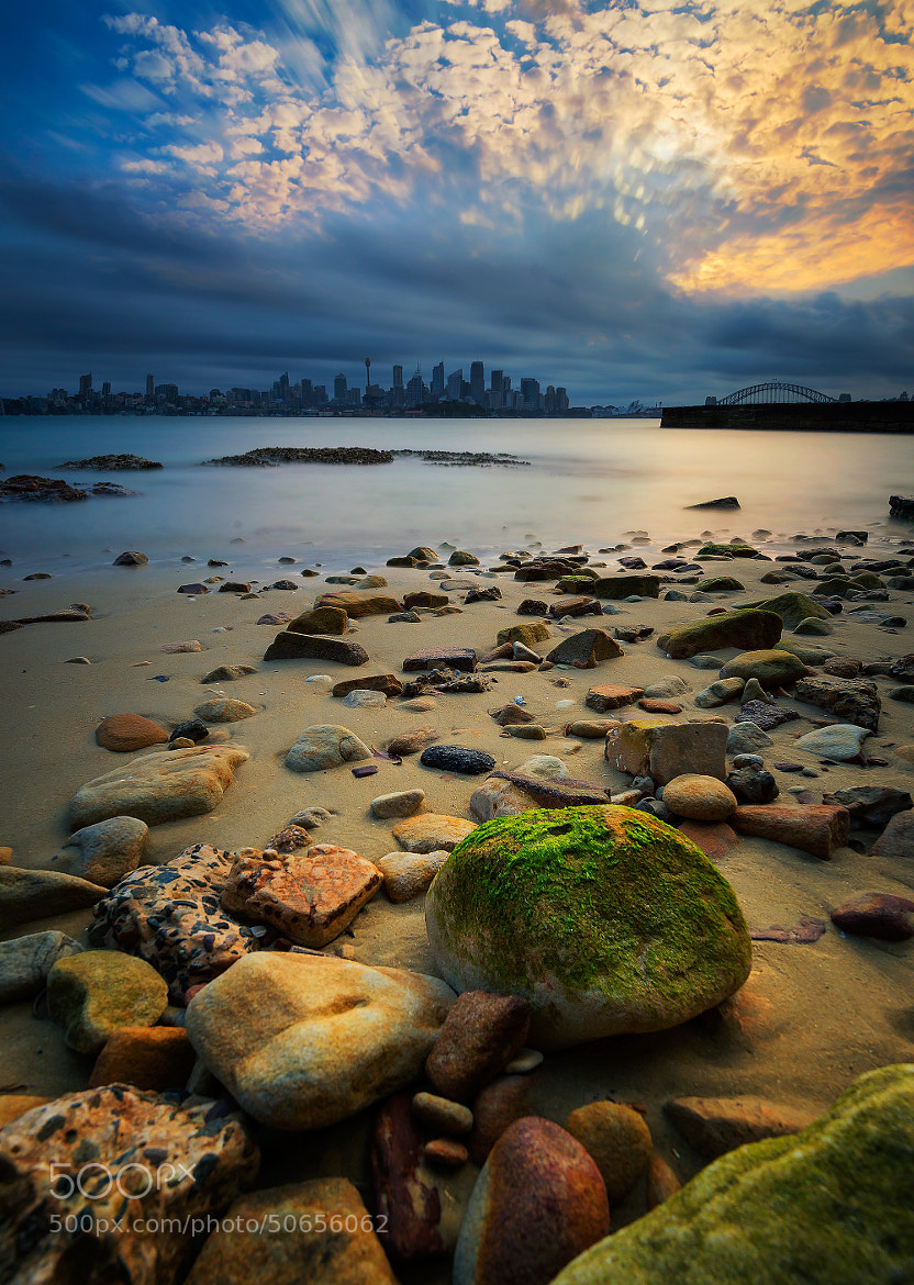 Photograph Stone and the city by Goff Kitsawad on 500px