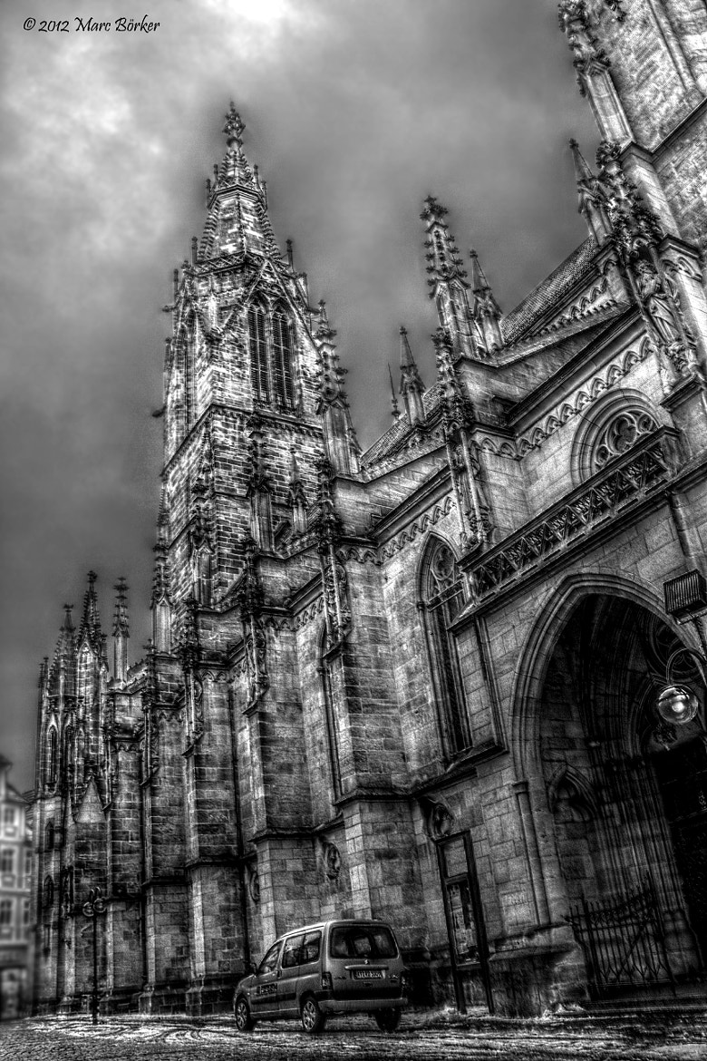 Photograph Clouded day ** church by Nolimit Studios on 500px
