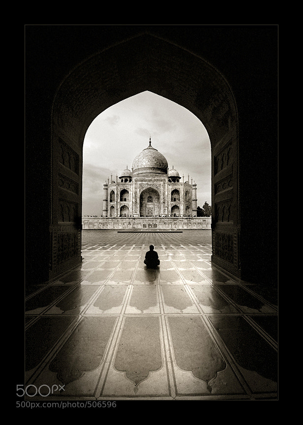 Photograph Solitude - Taj Mahal by Thamer Al-Tassan on 500px