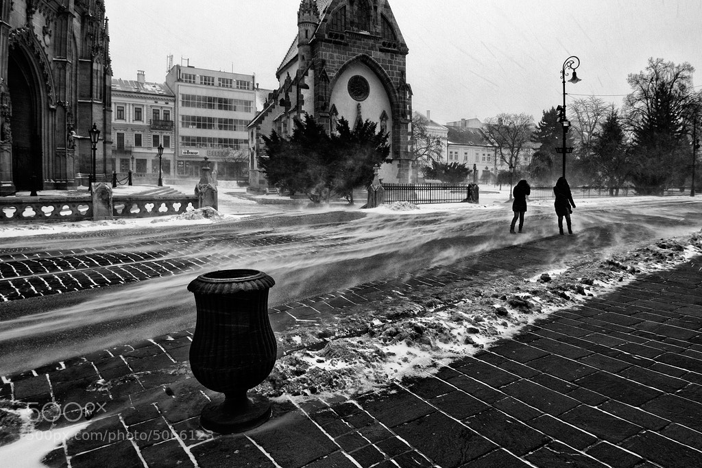 Photograph Snowstorm by Peter Majkut on 500px