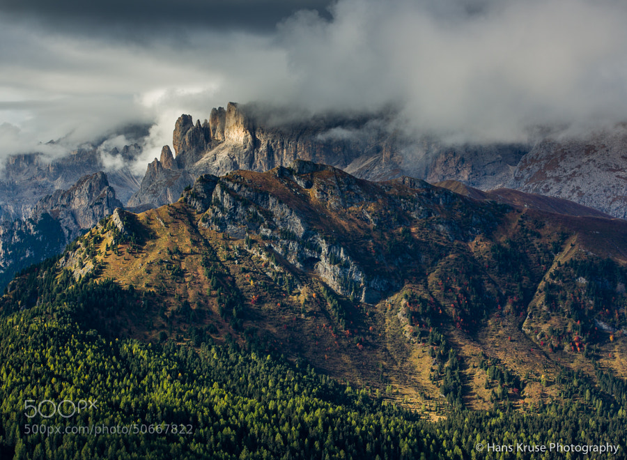 "This photo was shot in the Dolomites during the October 2013 photo workshop.  <a href=""http://www.hanskrusephotography.com/Hans-Kruse-Photo-Workshops/Workshops"">See workshops in 2014 in this location </a>"