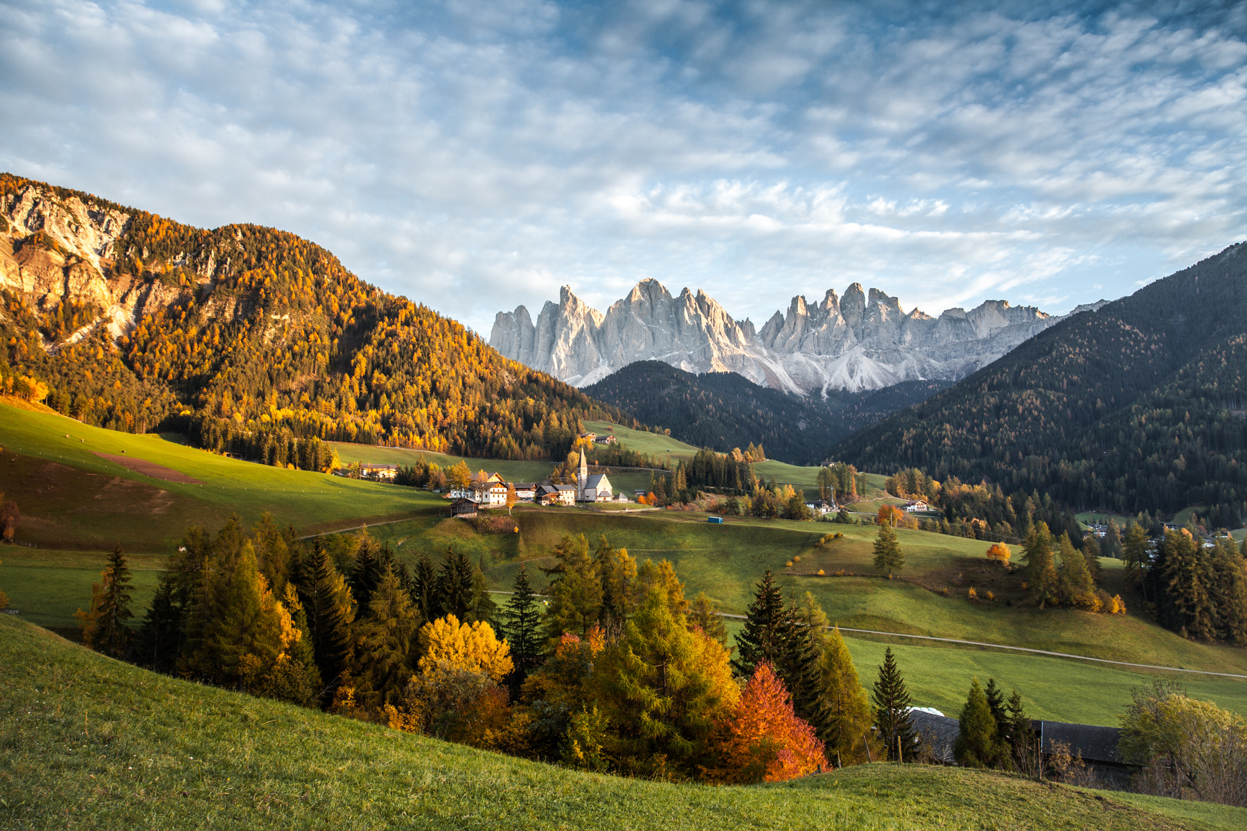 Photograph Colori d'autunno in Santa Maddalena by Jenny Coppe on 500px