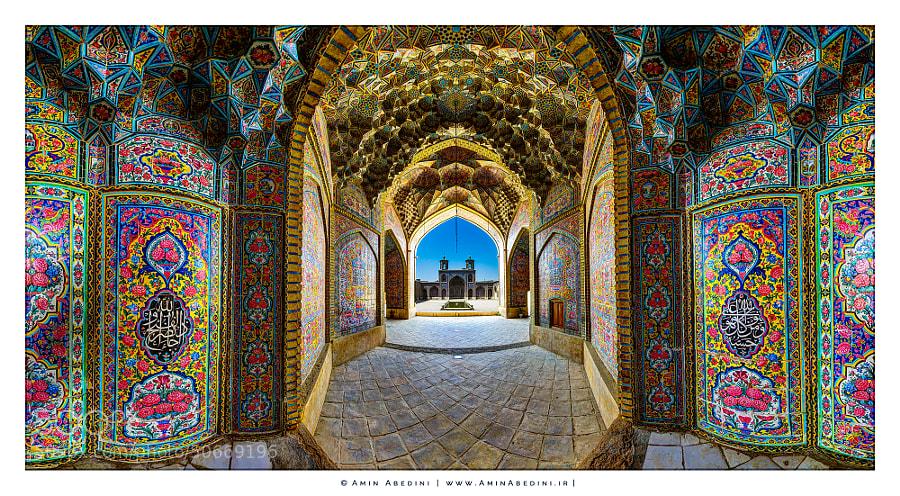 Photograph Nasir Al Molk Mosque by Amin Abedini on 500px