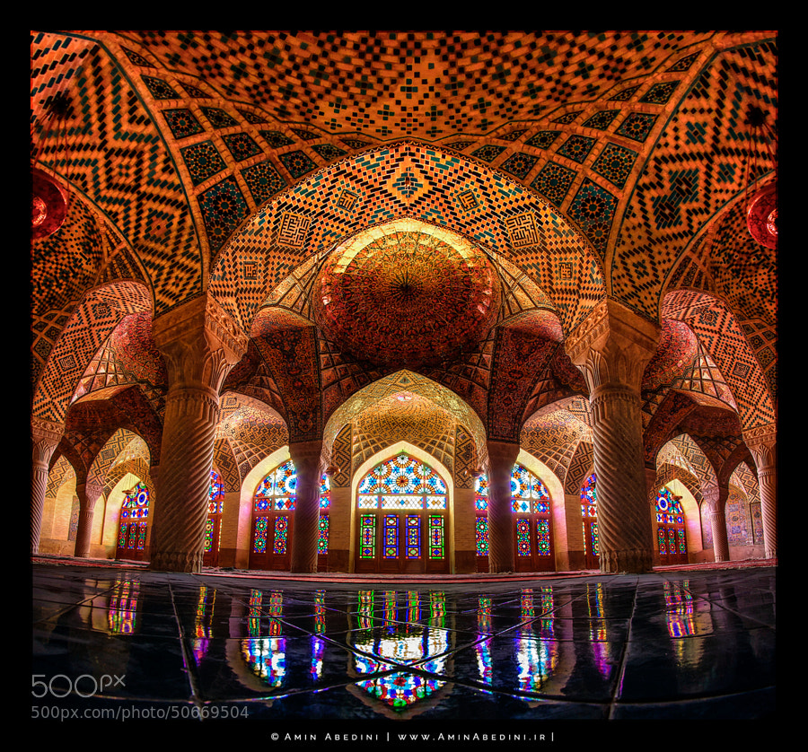 Photograph Nasir Al Molk Mosque of Colors by Amin Abedini on 500px