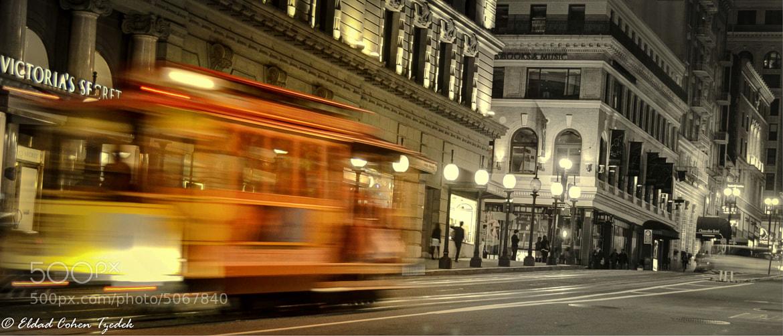Photograph Railway at night by Eldad Cohen Tzedek on 500px