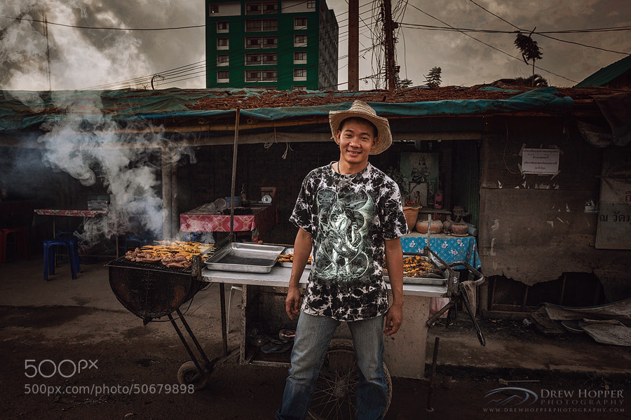 Photograph The Chicken Man by Drew Hopper on 500px