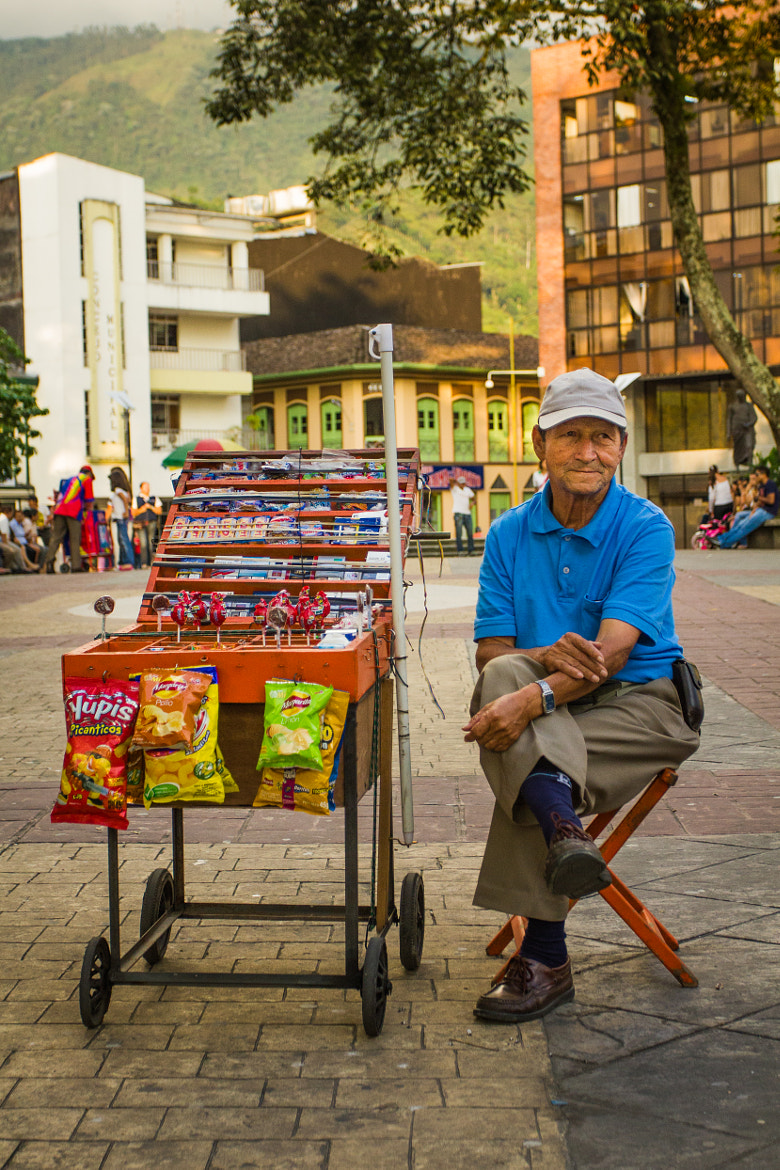 Photograph Street Vendor by Rob Rice on 500px