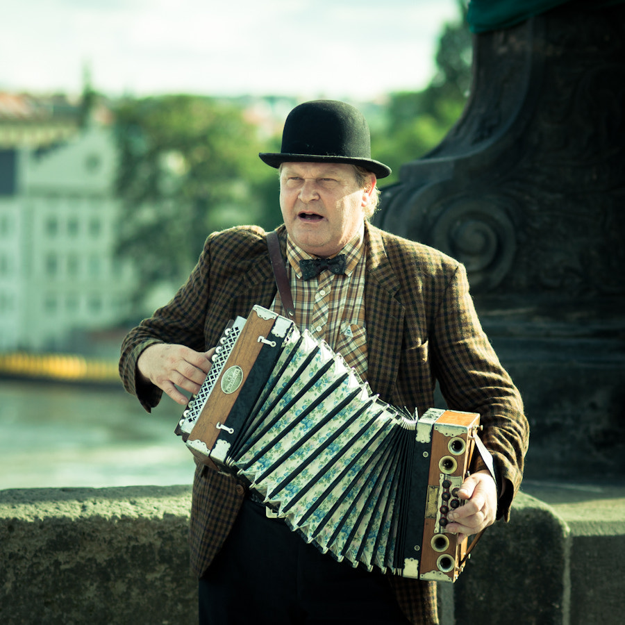 Photograph mr. accordion play me a song by Joe Bauers on 500px