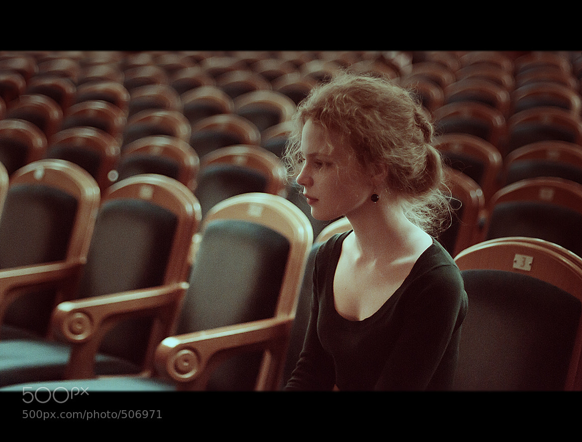 Photograph Alone in theatre by Kirill Vorontsov on 500px