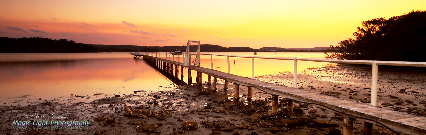 Photograph Kincumber Jetty at Sunset by Kevin Morgan on 500px