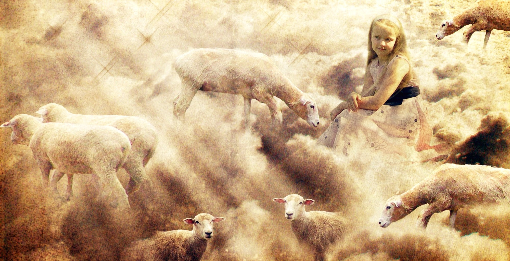 Photograph shepherd girl... by Maria Mirabella on 500px