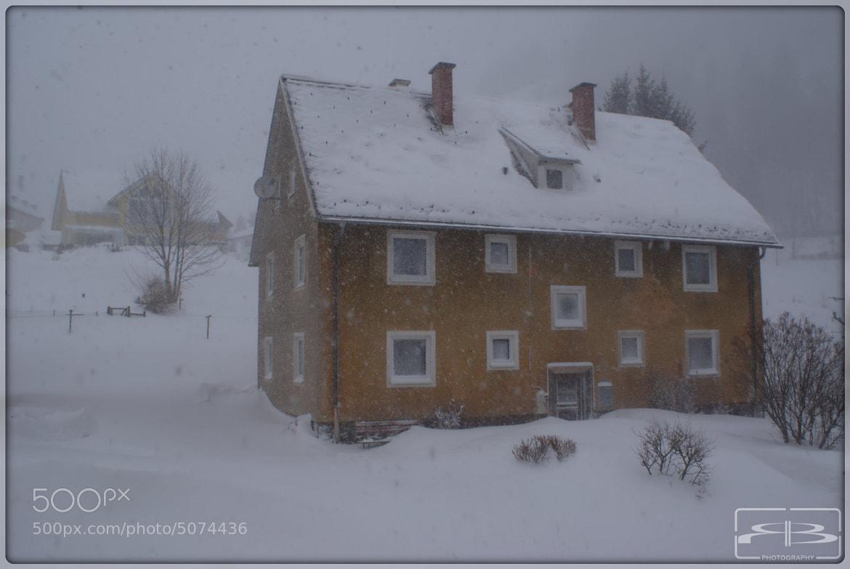 Photograph Snowstorm by Rene BERNHARD on 500px