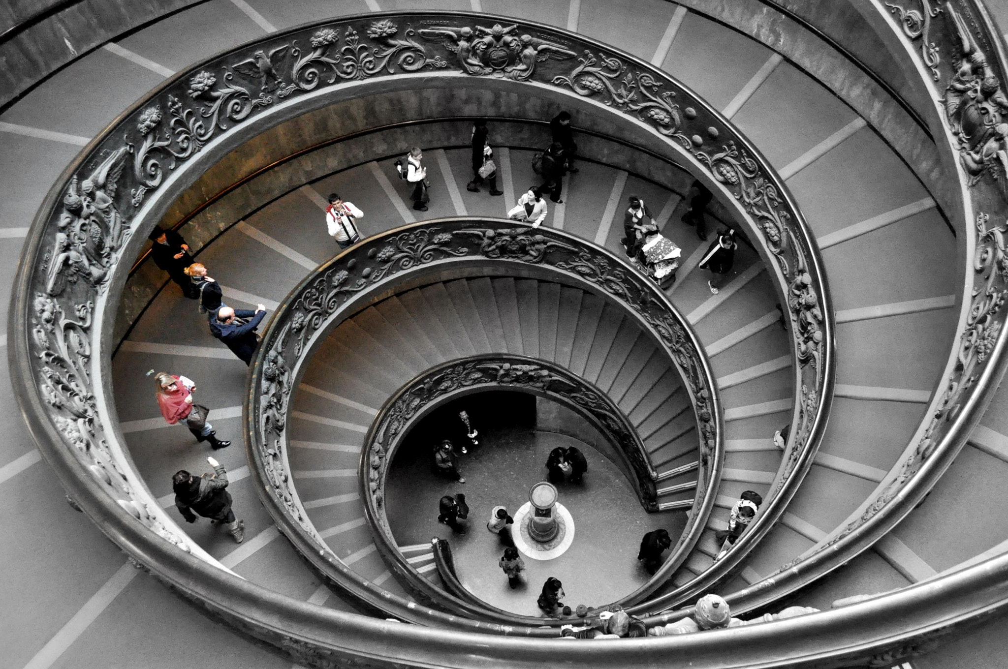 Photograph Vatican museum staircase by Sriganesh Murthi on 500px