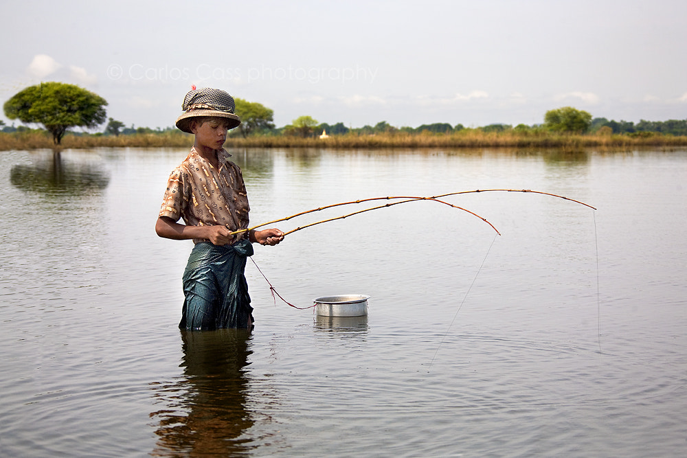 Photograph Fishing in Inle lake - Burma by Carlos Cass on 500px